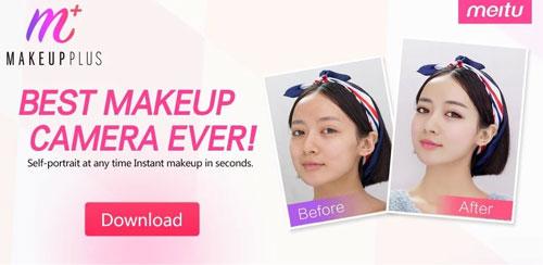 دانلود نرم افزار آرایش صورت MakeupPlus برای اندروید