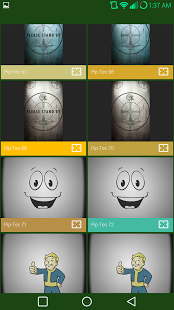 PipTec Amber Icons & Live Wall v1.0.3