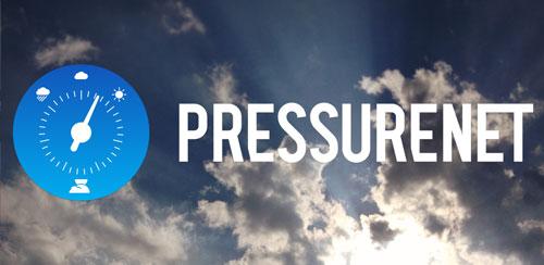 نرم افزار اندازه گیری فشار هوا PressureNet 5.0.8
