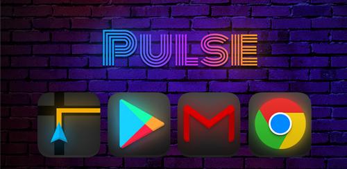 دانلود پک آیکون پالس Pulse - Icon Pack v3.4.0