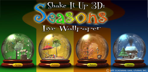 Shake It Up 3D: Seasons LWP v1.03