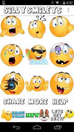 Silly Smileys by Emoji World ™ v2.0