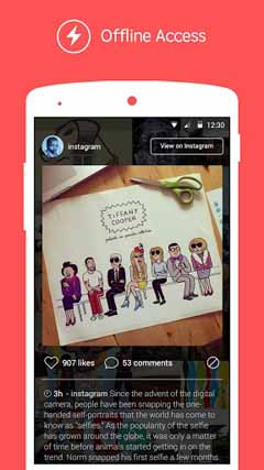 Tiles Instagram Lock Screen 2.2.0