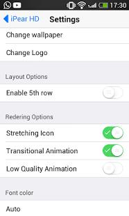 iPear HD iOS Launcher v1.0.0.2