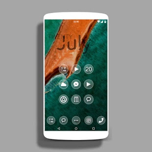one Theme HD icons Pack Glass v1.0