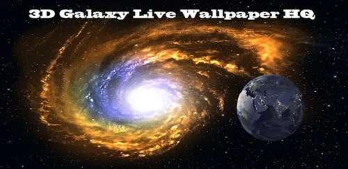 ۳D Galaxy Live Wallpaper Full v1.82