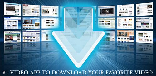 دانلود نرم افزار ویدیو دانلودر AVD Download Video Downloader برای اندروید