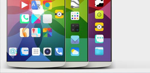 دانلود لانچر IOS برای اندروید iPear HD iOS Launcher