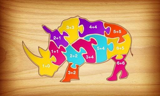 ۱+۲=۳ : Jungle Puzzles v1.00
