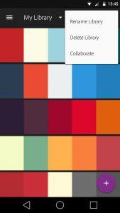 تصویر محیط Adobe Color v1.3