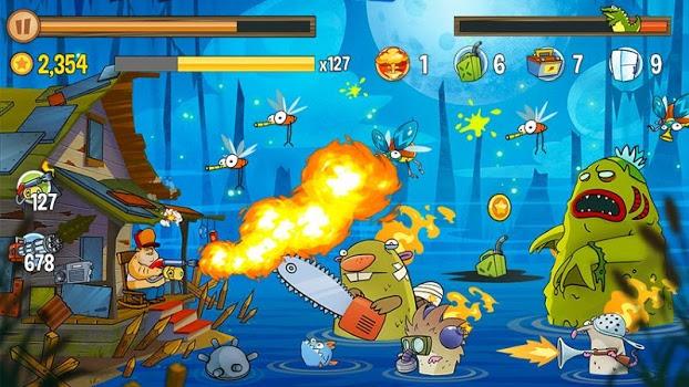 Swamp Attack v2.4.5