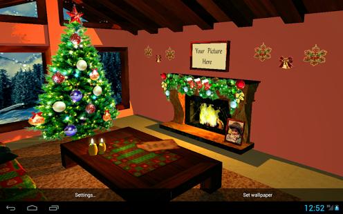 3D Christmas Fireplace HD Full v1.24
