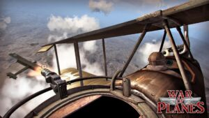 تصویر محیط Sky Baron: War of Planes FREE v3.15 + data