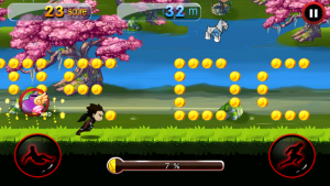 تصویر محیط Dragon Ninja Rush v1.15