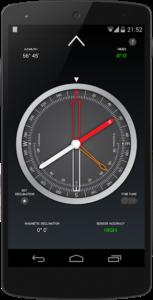 تصویر محیط Compass PRO v1.49