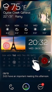 Card Cool GO Locker Theme v1.0