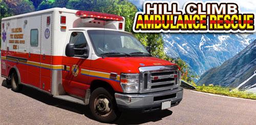 بازی آمبولانس در کوه Hill Climb Ambulance Rescue v1.2