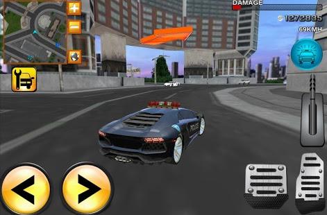 Mad Police Driver Fury 3D v1.2