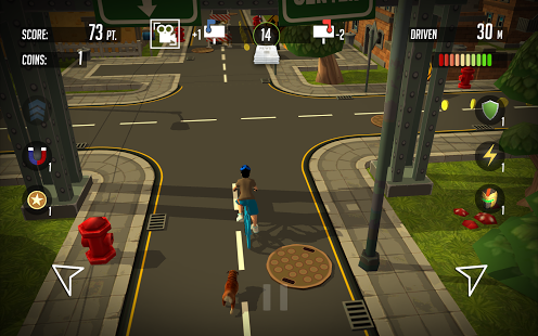 PaperBoy:Infinite bicycle ride v1.17 + data