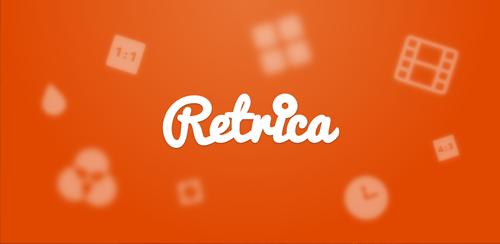 نرم افزار عکاسی همراه با افکت های زیبا Retrica Pro v2.7