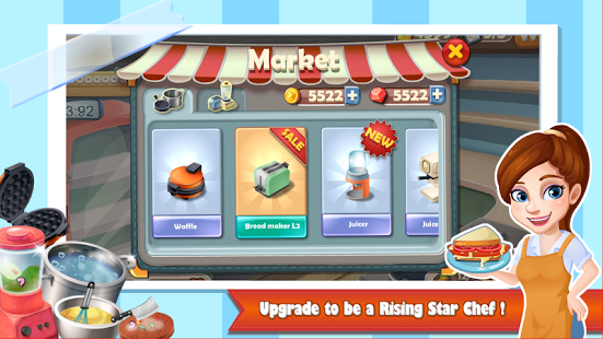 Rising Super Chef:Cooking Game v2.9.3 + data