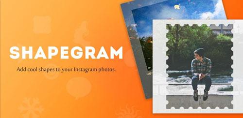 نرم افزار گذاشتن عکس در قاب Shapegram 2.0.3