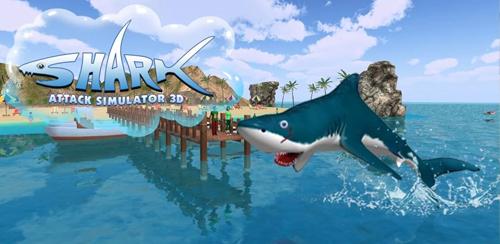 بازی شبیه ساز حمله کوسه Shark Attack Simulator 3D v1.1