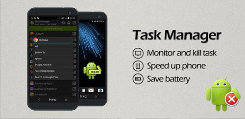 نرم افزار تسک کیلر Task Manager (Task Killer) PRO v2.2.3