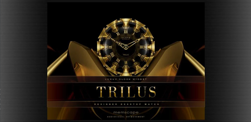TRILUS Luxury Clock Widget v2.40