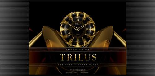 TRILUS Luxury Clock Widget v2.40