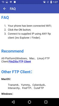 WiFi FTP Pro (File Transfer) v3.1.0