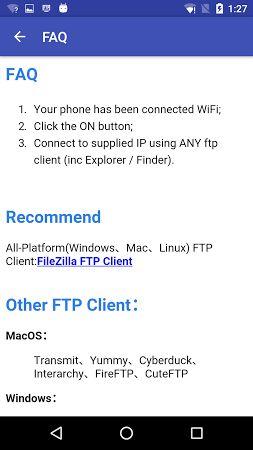 WiFi FTP Pro (File Transfer) v3.1.0