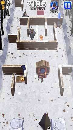 Winter Fugitives: stealth game v1.0
