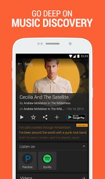 SoundHound ∞ – Music Discovery & Hands-Free Player v8.9.2