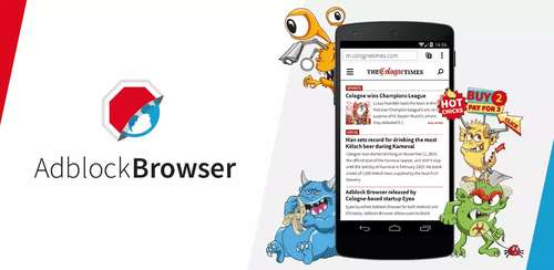 Adblock Browser for Android v1.3.2