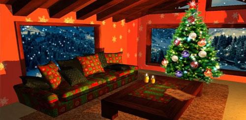 ۳D Christmas Fireplace HD Full v1.24