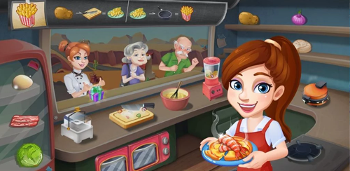 Rising Super Chef:Cooking Game v1.4.1 + data