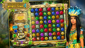 تصویر محیط Treasures Of Montezuma 4 Free. Match-3 game v1.1.0 + data