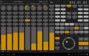 تصویر محیط TouchDAW v2.0.0