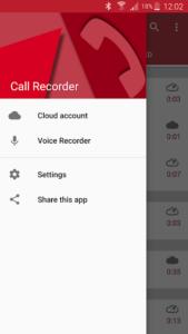 تصویر محیط Automatic Call Recorder Pro v6.06.1