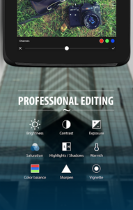 تصویر محیط Camly photo editor & collages v2.1.6