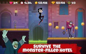 تصویر محیط Hotel Transylvania Adventures – Run, Jump, Build! v1.3.7