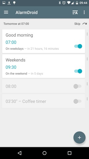 AlarmDroid (alarm clock) Pro v2.1.1