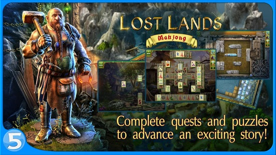 Lost Lands: Mahjong v1.0.6 + data