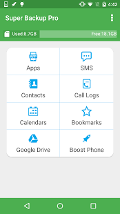 Super Backup Pro: SMS & Contacts v2.2.26