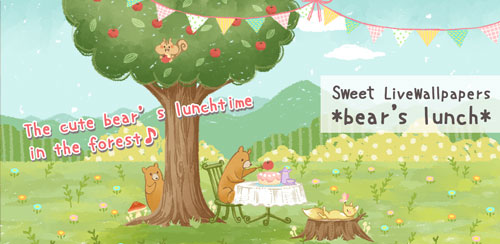 SweetLiveWallpaper Bear'sLunch v1.0
