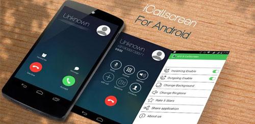 نرم افزار تغییر صفحه تماس اندروید-i Call screen Pro v1.1