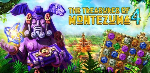 Treasures Of Montezuma 4 Free. Match-3 game v1.1.0 + data