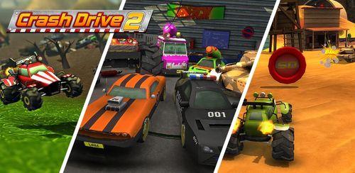 Crash Drive 2: 3D racing cars v3.70