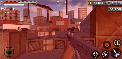 بازی اکشن کشتن تروریست ISIS Alpha Frontier v1.0.7
